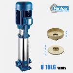 Máy bơm trục đứng Pentax 9,2HP U18LG-920/10T